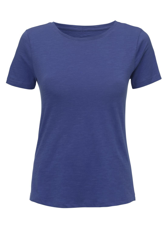 HEMA Dames T-shirt Felblauw (felblauw)