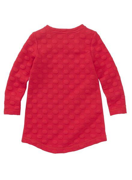kinderjurk rood rood - 1000011062 - HEMA