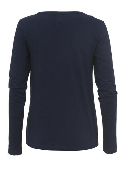dames pyjama blauw - 1000002972 - HEMA