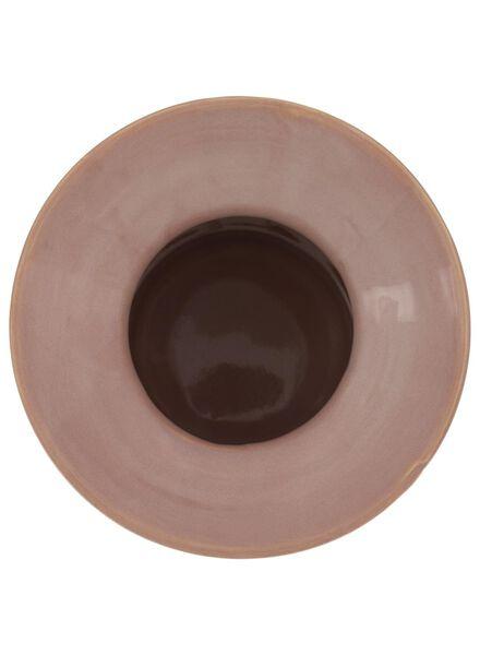 vaas - 19 x Ø 9 cm - roze reactief glazuur - 13392041 - HEMA