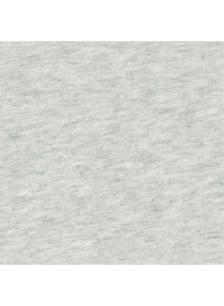 romper stretch grijsmelange 74/80 - 33356713 - HEMA