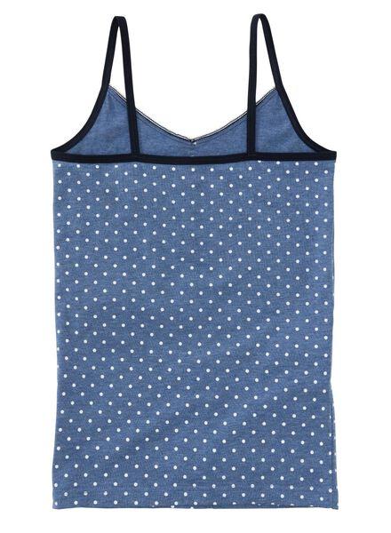 2-pak kinderhemden blauw blauw - 1000001553 - HEMA