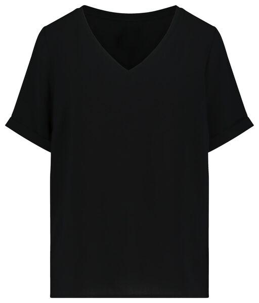 dames top zwart zwart - 1000019229 - HEMA