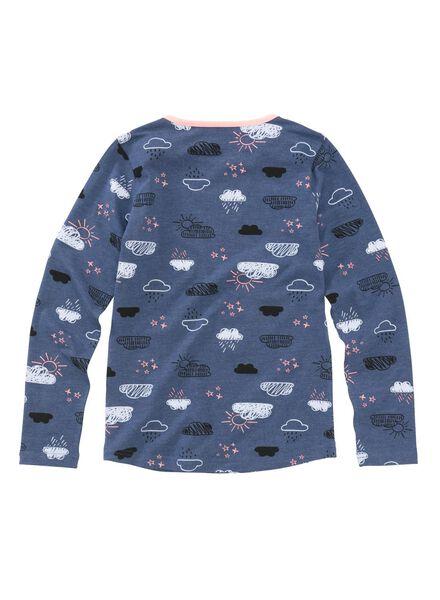 kinder pyjama blauw blauw - 1000002755 - HEMA