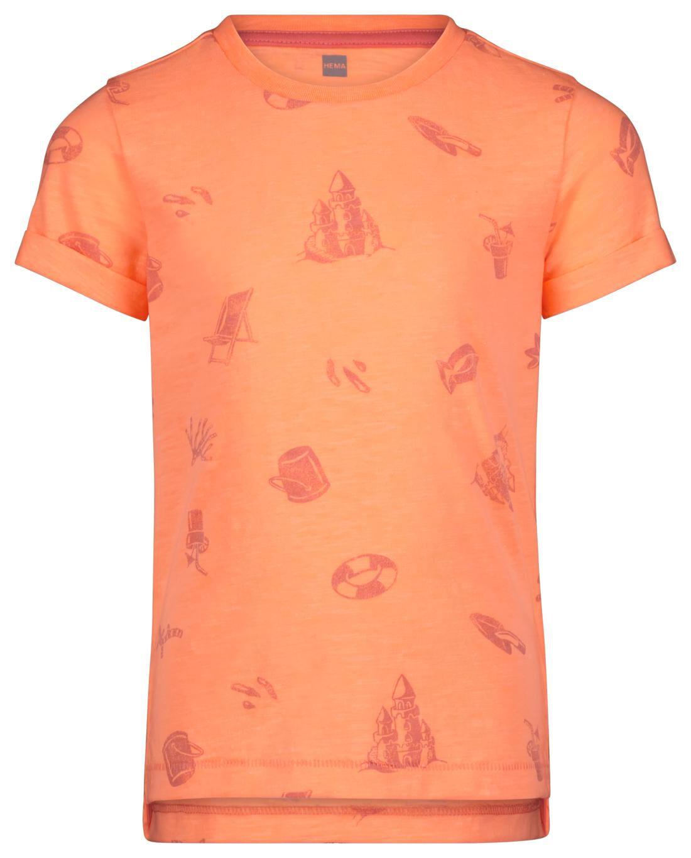 HEMA Kinder T-shirt Feloranje (feloranje)
