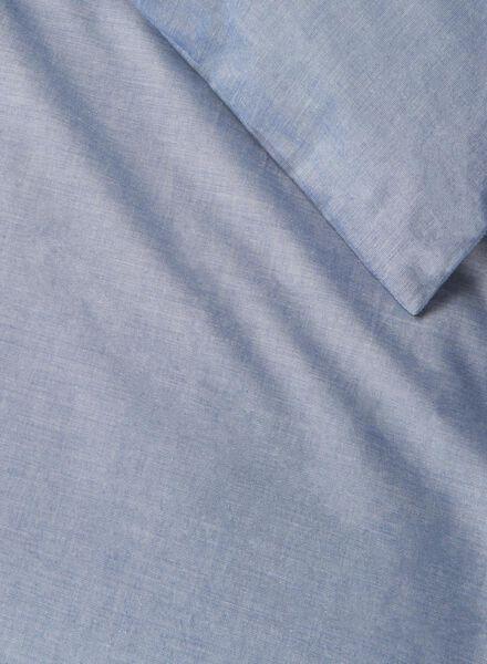 chambray dekbedovertrekset 240 x 220 cm - 5700076 - HEMA
