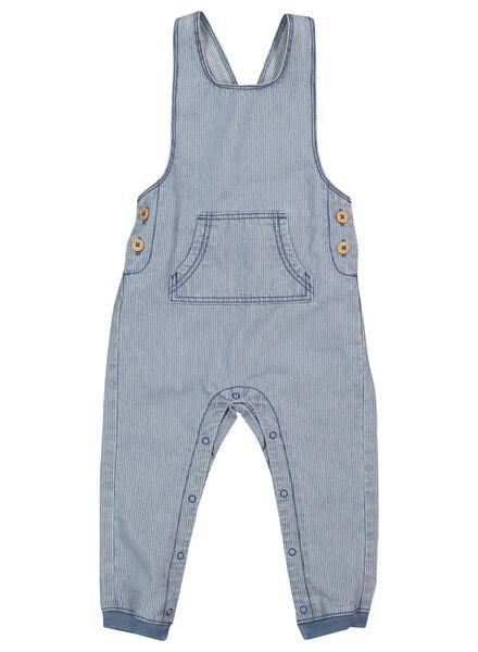 baby tuinbroek denim denim - 1000017517 - HEMA