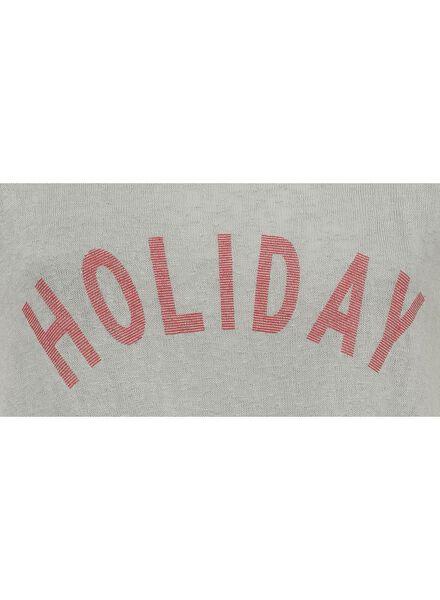 dames t-shirt zeegroen zeegroen - 1000008074 - HEMA