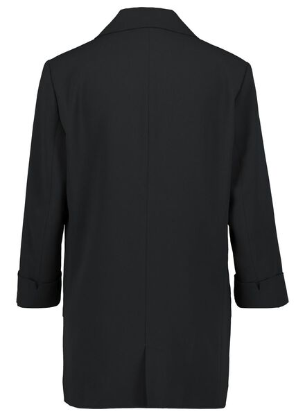damesblazer zwart zwart - 1000015621 - HEMA
