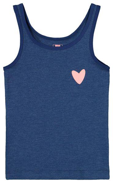 2-pak kinderhemden blauw blauw - 1000019321 - HEMA
