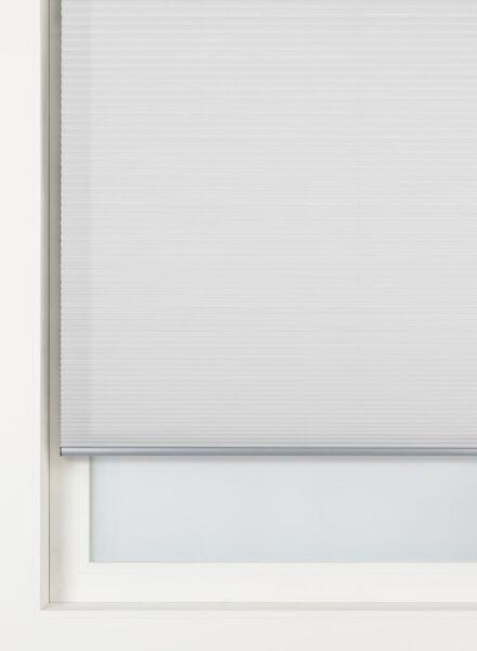 plissé dubbel lichtdoorlatend / witte achterzijde 25 mm - 7430002 - HEMA