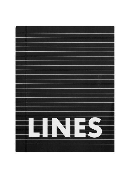 Schriften 16.5 x 21 cm - gelinieerd - 3 stuks - in Schriften