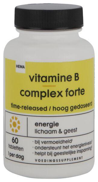 vitamine B complex forte - 60 stuks - 11402120 - HEMA