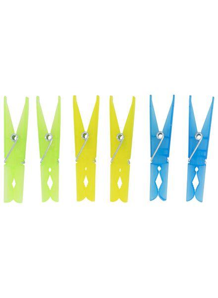 wasknijpers 24 stuks - 20530041 - HEMA