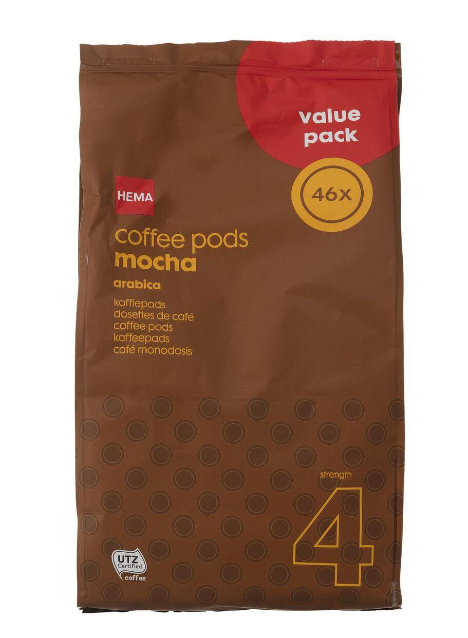 afbeeldingen koffiepads mokka 46 stuks 17100023 hema