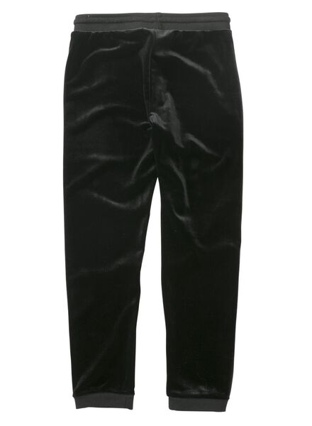 kinder sweatbroek zwart zwart - 1000011487 - HEMA
