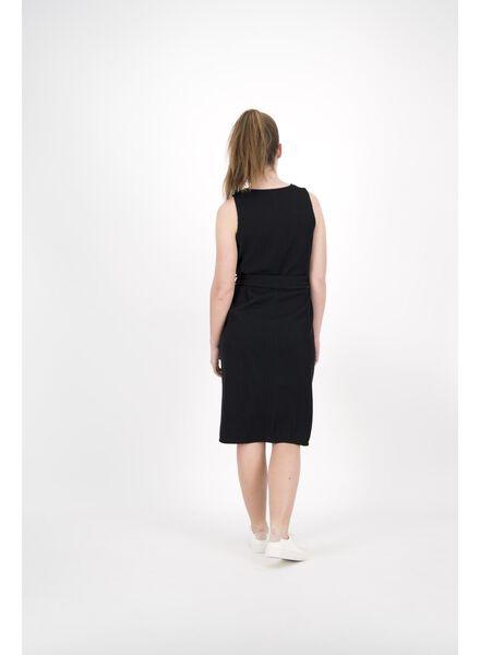 damesjurk zwart zwart - 1000013889 - HEMA