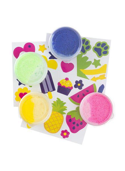 foam klei set stickers - 15980089 - HEMA