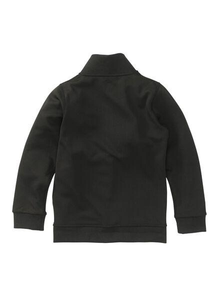kinder sportvest zwart zwart - 1000009082 - HEMA