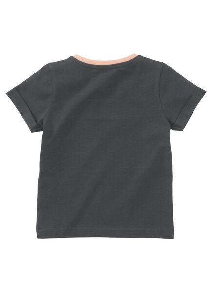 kinder t-shirt donkerblauw 146/152 - 30872441 - HEMA