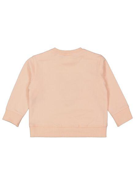 babysweater zalmroze 86 - 33079325 - HEMA
