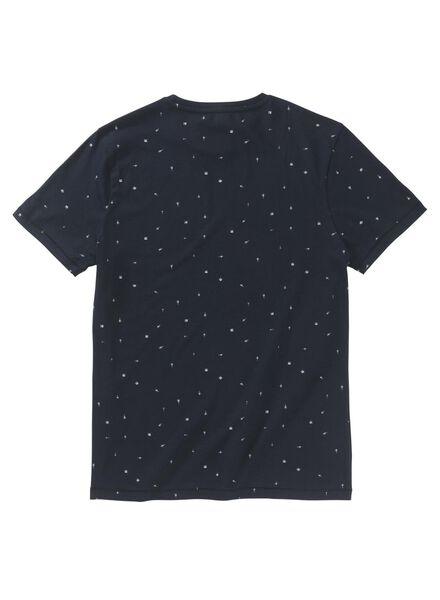 heren t-shirt donkerblauw donkerblauw - 1000009018 - HEMA
