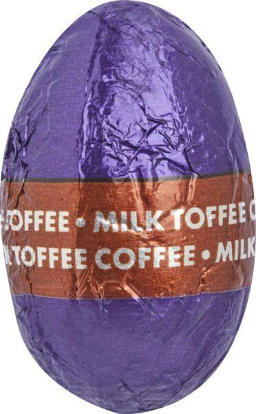 melkchocolade paaseieren karamel-koffie 200 gram - 10091042 - HEMA