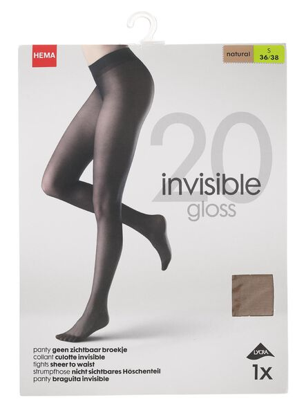 panty 20 denier naturel naturel - 1000000965 - HEMA