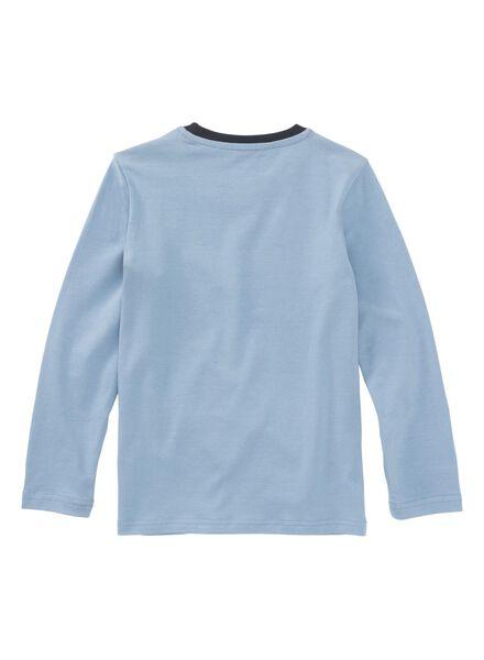 kinderpyjama blauw blauw - 1000009227 - HEMA