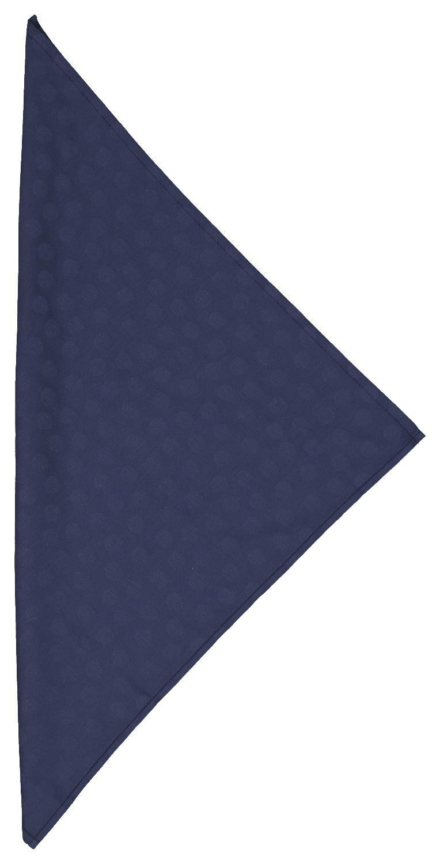 HEMA Servetten 47x47 Damast Katoen - Blauw Stip - 2 Stuks (blauw)