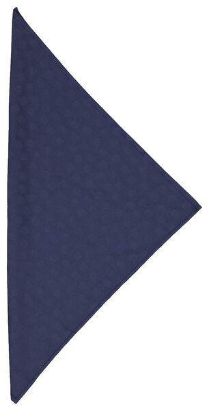 Servetten 47x47 damast katoen - blauw stip - 2 stuks