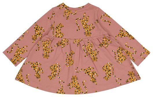 baby jurk luipaard roze roze - 1000025366 - HEMA
