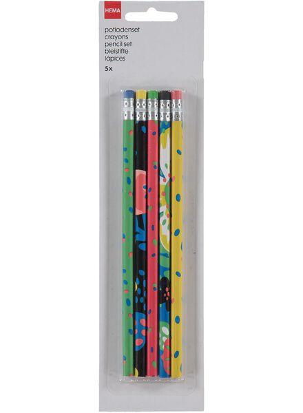 5-pak potloden - 14540529 - HEMA