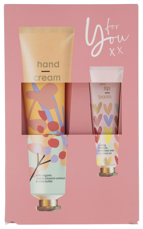 Image of HEMA Cadeauset Handcrème En Lippenbalsem