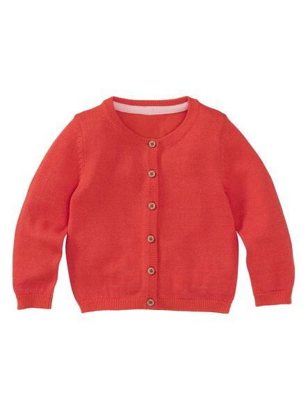 babyvest rood rood - 1000008289 - HEMA