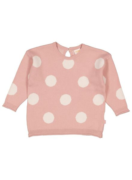 babytrui gebreid roze roze - 1000015519 - HEMA