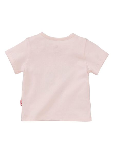 newborn baby t-shirt lichtroze lichtroze - 1000013440 - HEMA