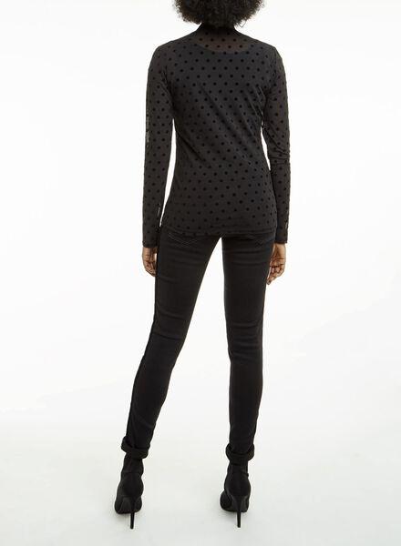 dames top zwart zwart - 1000011484 - HEMA