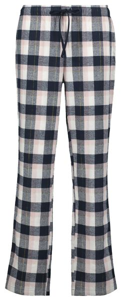 damespyjama ruiten donkerblauw L - 23421173 - HEMA