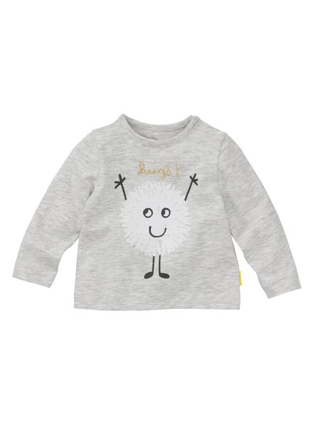 newborn set grijsmelange grijsmelange - 1000008445 - HEMA