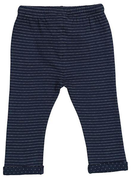 baby sweatbroek donkerblauw donkerblauw - 1000015562 - HEMA