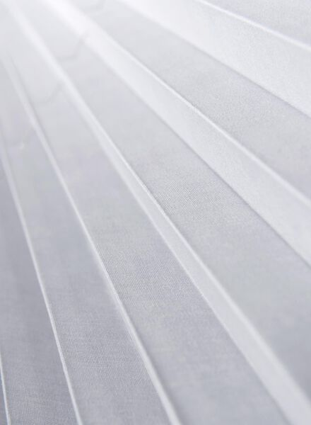 plisségordijn uni vlamvertragend 20 mm - 7430035 - HEMA