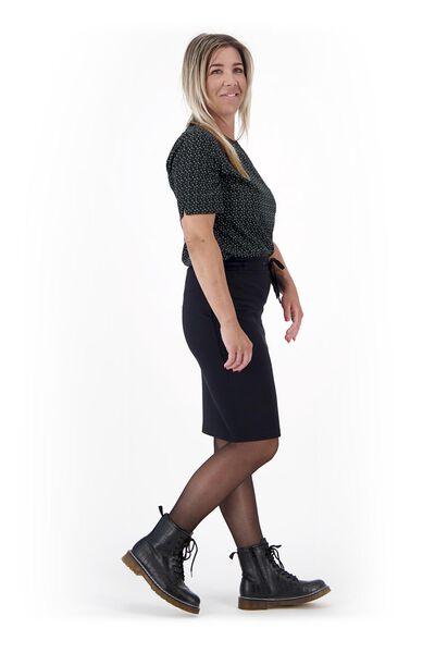 dames rok zwart XL - 36309523 - HEMA