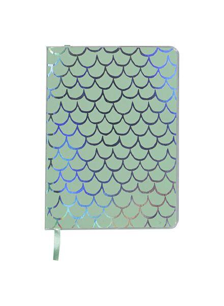 notitieboek 18 x 13 cm - gelinieerd - 14501312 - HEMA