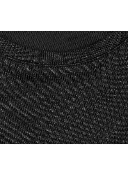 kindertrui zwart zwart - 1000010650 - HEMA