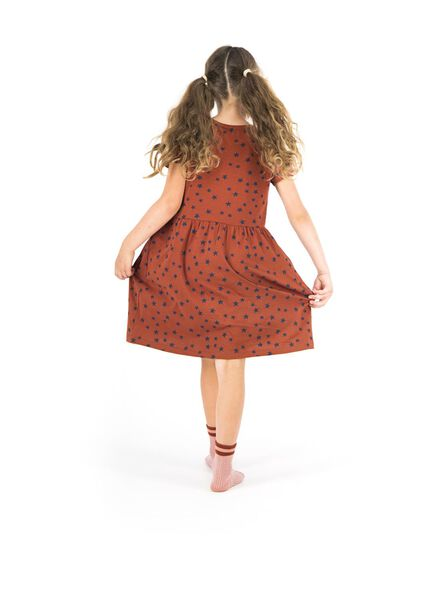 kinderjurk bruin bruin - 1000013673 - HEMA