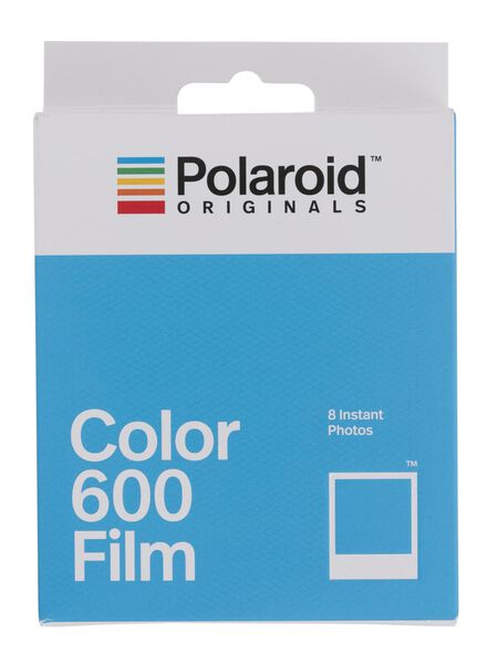 8-pak Polaroid film color voor Originals Vintage 600 en i-Type camera - 61100013 - HEMA
