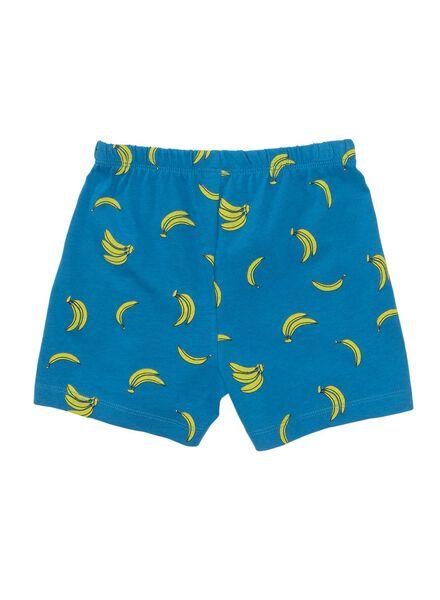 kindershortama bananen blauw blauw - 1000013308 - HEMA