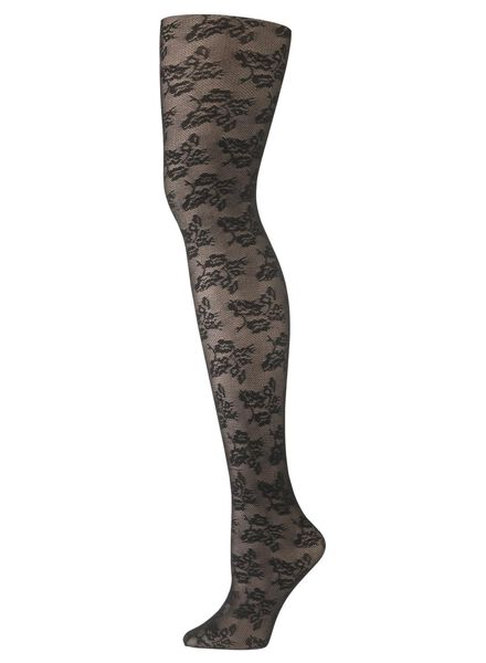 panty zwart zwart - 1000006828 - HEMA