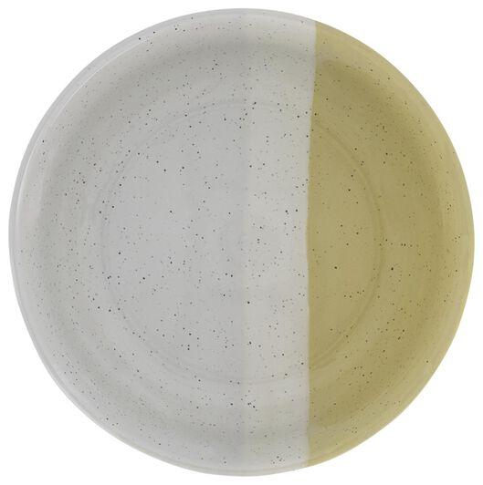 schaal - 16 cm - Cordoba - geel - 9602126 - HEMA